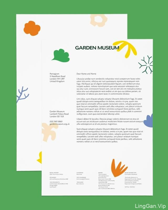 GARDEN MUSEUM: 园林博物馆VI形象