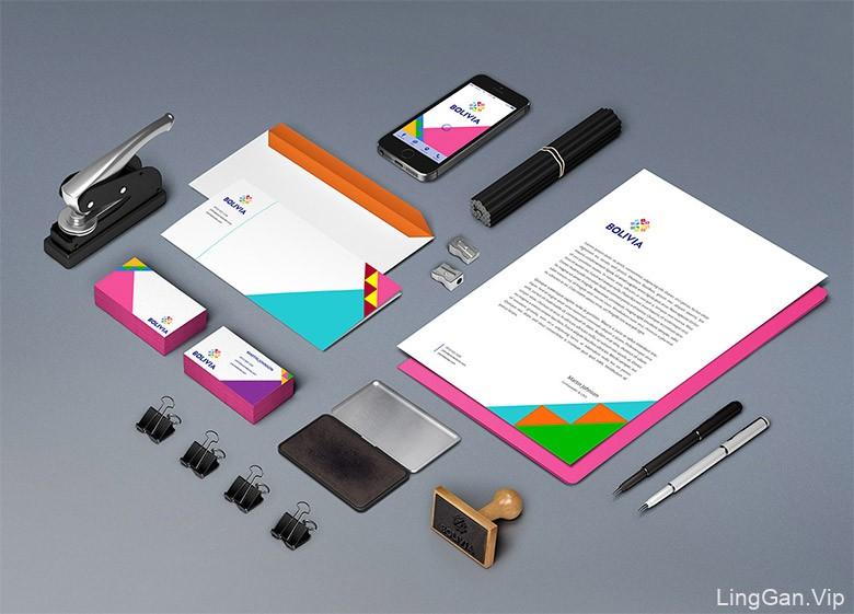 玻利维亚多姿多彩的国家品牌LOGO及视觉形象