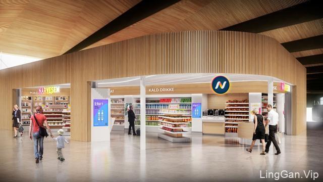 挪威连锁便利店NARVESEN品牌新形象
