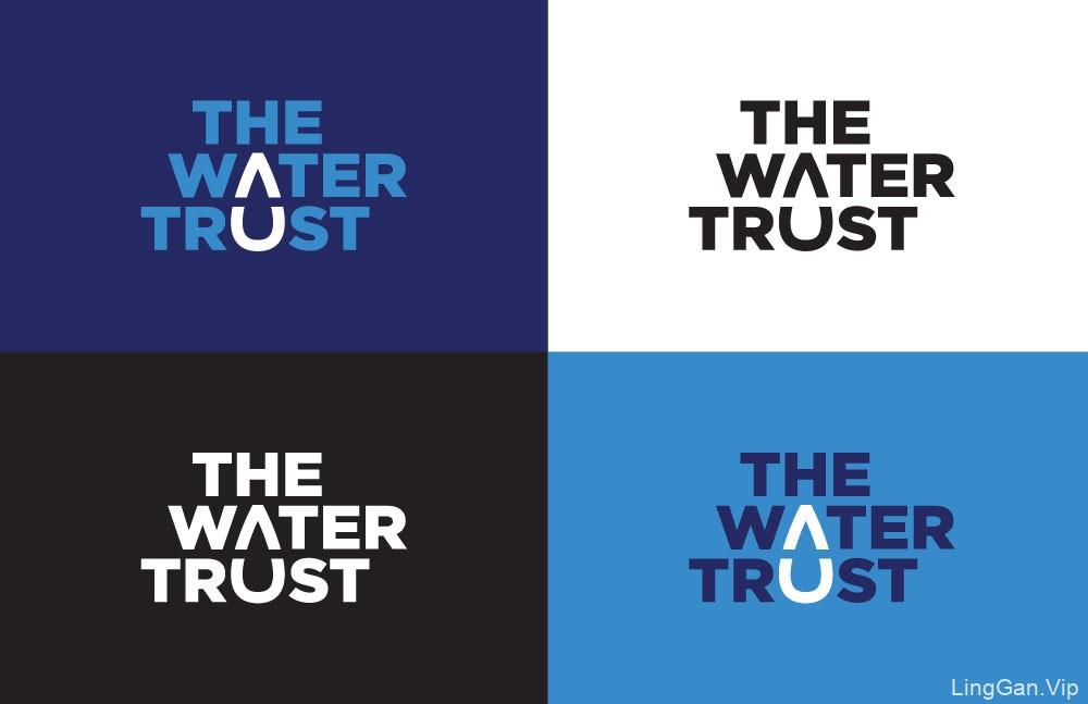 巧妙的水滴:饮用水组织(The Water Trust)新LOGO