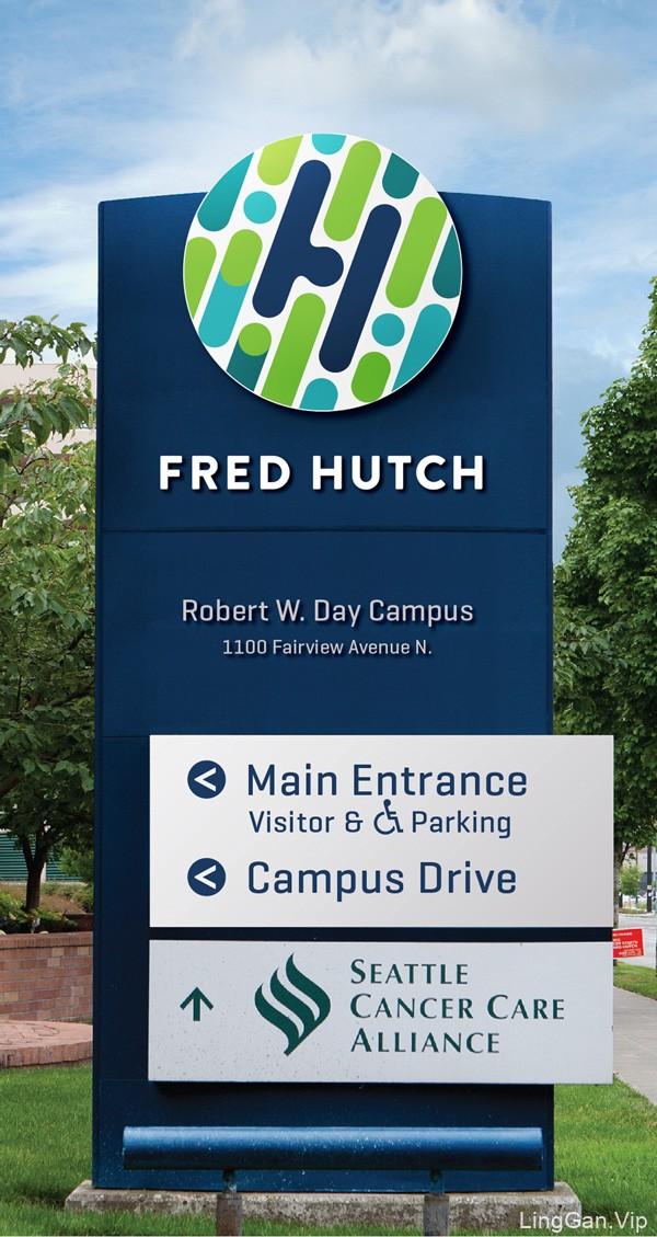 西雅图Fred Hutch癌症研究中心视觉形象