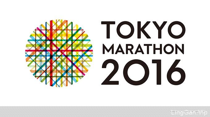 2016年东京马拉松会徽