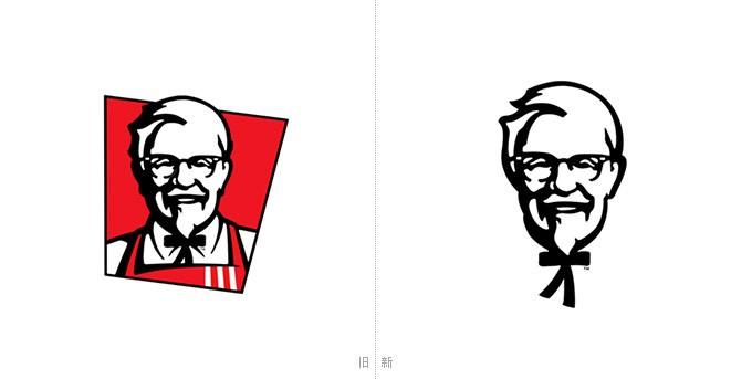 肯德基更新Logo 山德士上校更醒目
