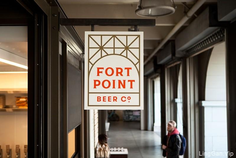 堡点啤酒(Fort Point Beer)品牌形象设计
