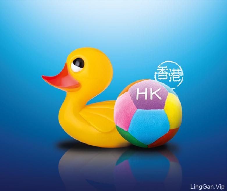 香港回归20周年庆典官方LOGO和系列视觉设计