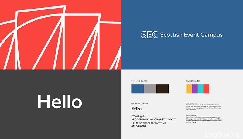 苏格兰会展中心(SEC)品牌形象设计