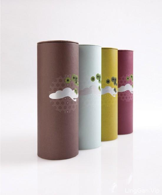 香港设计师李永铨茶业品牌设计作品:茶约