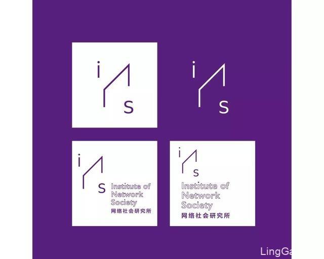 中国美术学院网络社会研究所(INS)LOGO创意分享