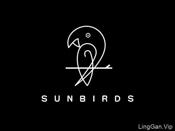 25款线描风格的Logo设计作品,漂亮不?
