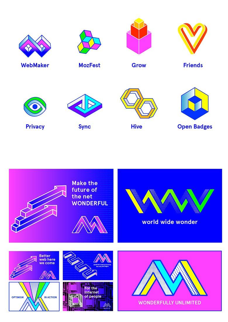 Mozilla邀请公众重新设计logo公布7份入围作品,你会选哪一款?