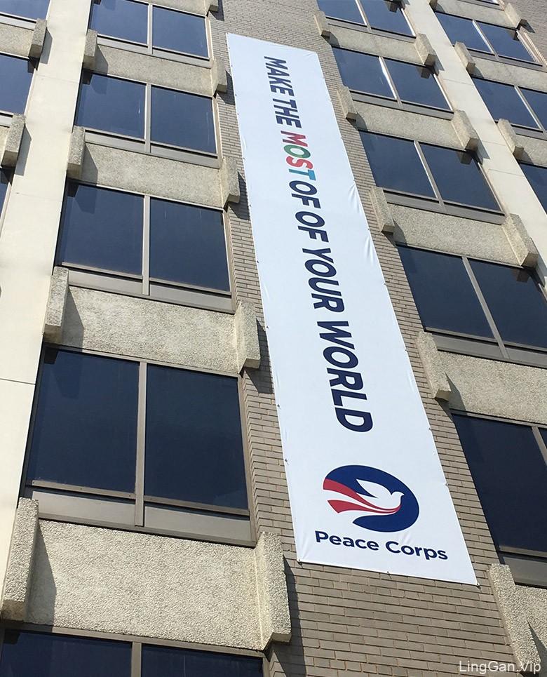 美国志愿服务组织 Peace Corps 公布新LOGO