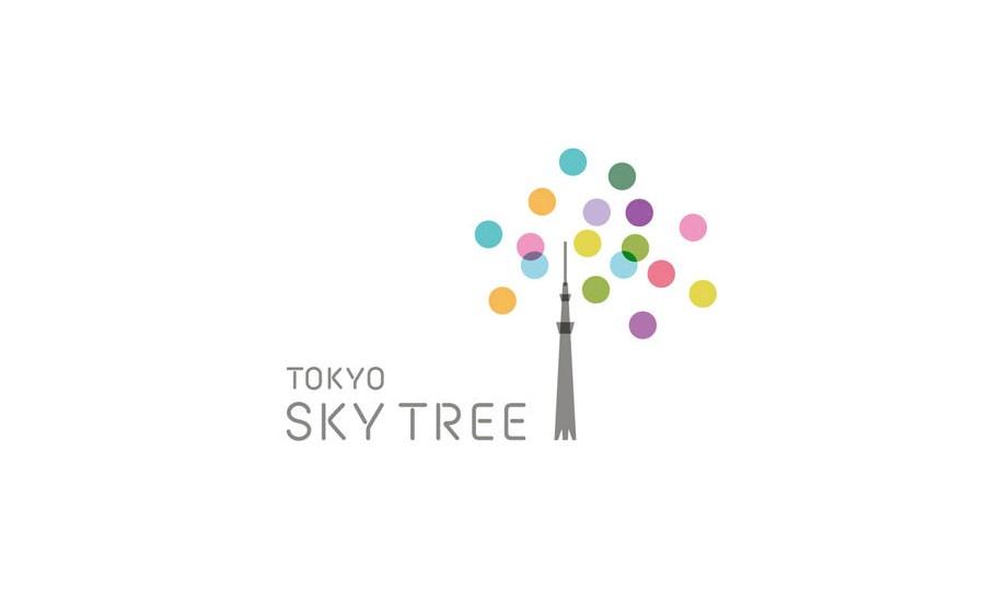 日本新东京铁塔(TOKYO SKY TREE )LOGO创意