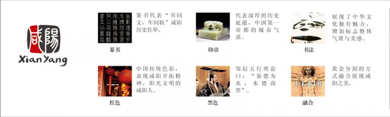 陕西咸阳发布城市品牌LOGO