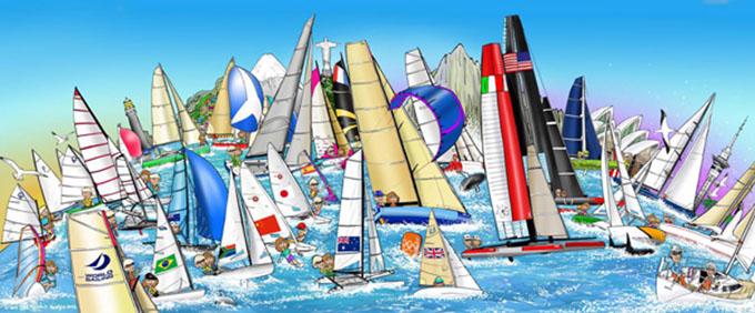 国际帆船联合会更名为World Sailing,并简化LOGO