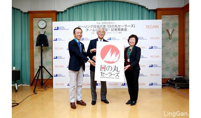 日本国家帆船队发布新LOGO