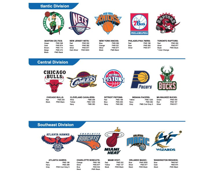 NBA球队矢量LOGO下载(第一期)