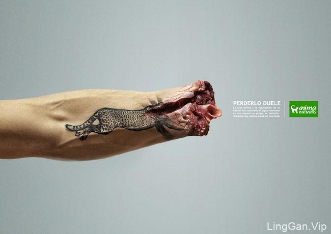 Animanaturalis非盈利组织保护野生动物宣传海报
