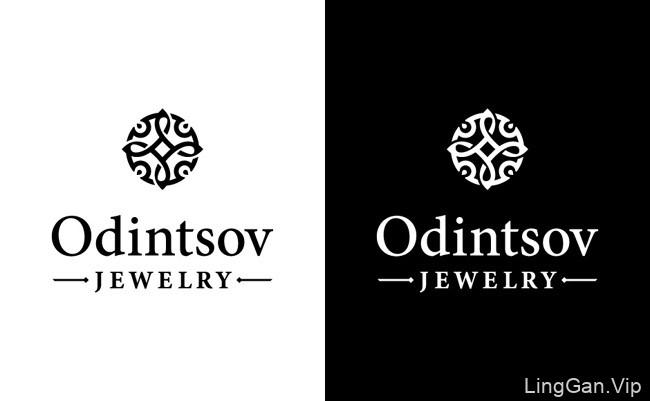 国外Odintsov珠宝品牌VI设计基础部分设计展示(一)