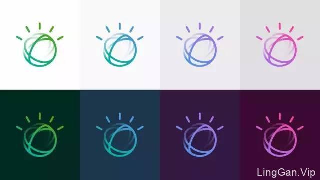 IBM Watson系统的启用全新品牌LOGO
