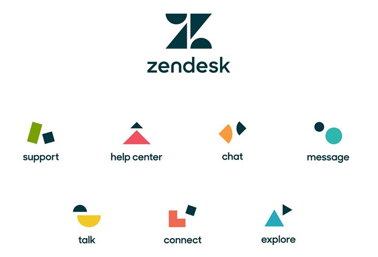 美国软件开发公司Zendesk新LOGO设计