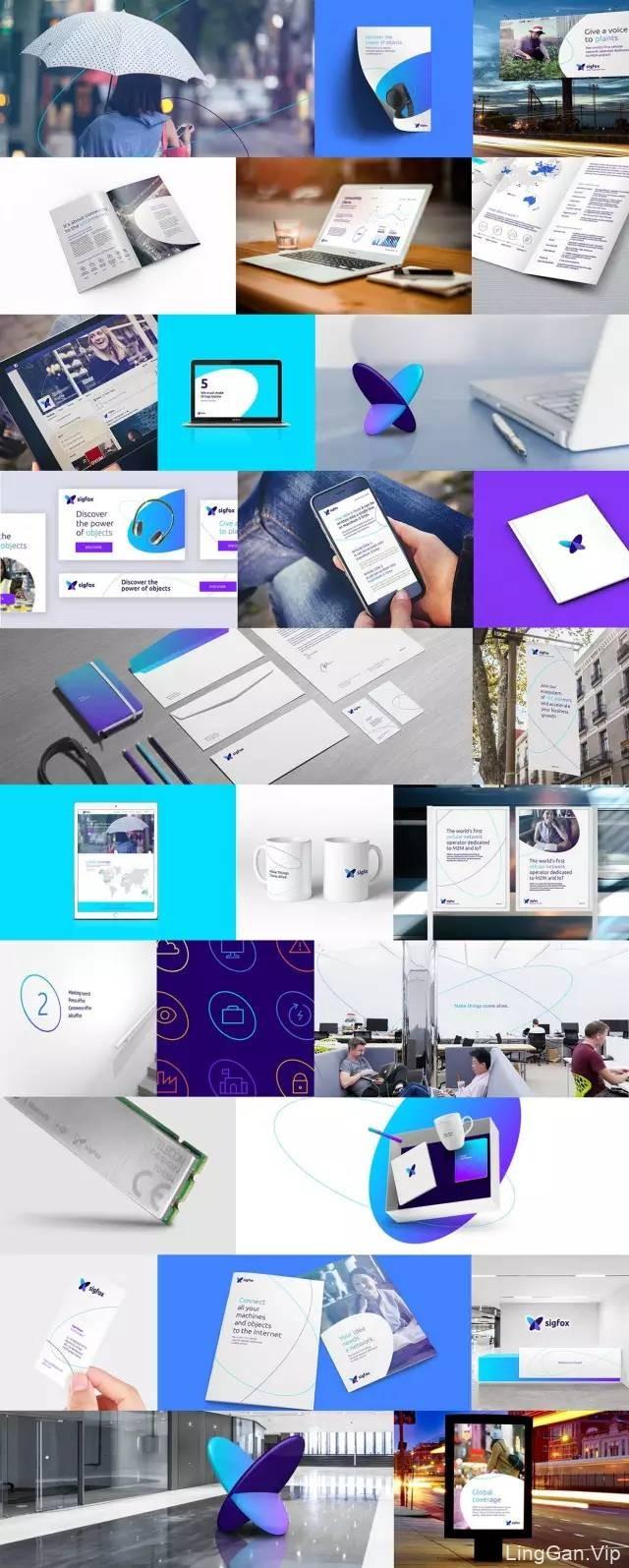 全球第一的物联网解决方案的公司(SigFox) 品牌形象升级