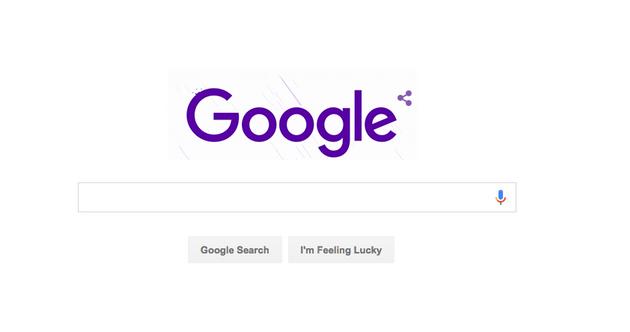 为了纪念巨星Prince去世,谷歌做了个紫色的Logo