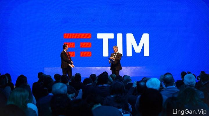 意大利老牌电信运营商TIM更换新LOGO