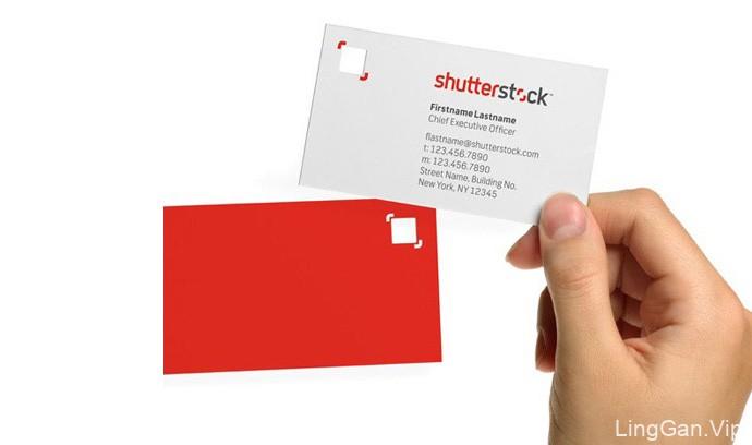 全球最大图片下载网站(Shutterstock)品牌形象