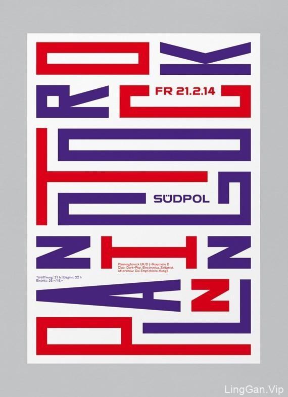 国外字体海报设计,美哭了!