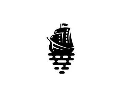 【LOGO精选】一组国外设计师简约正负形Logo作品