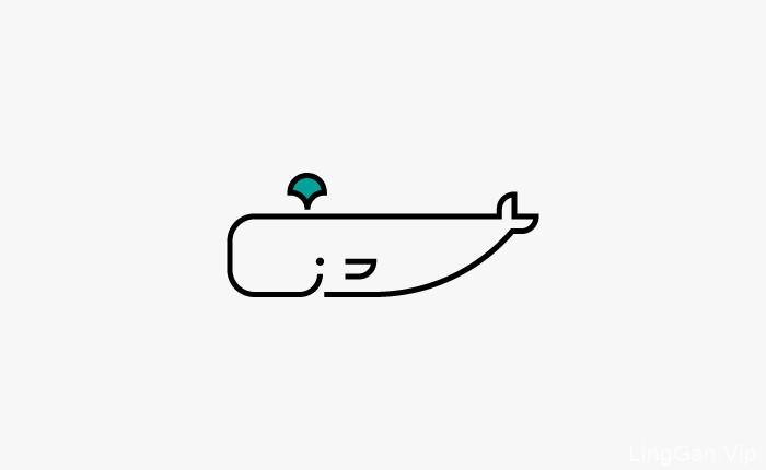一组精美的原创动物LOGO图标——亦果设计