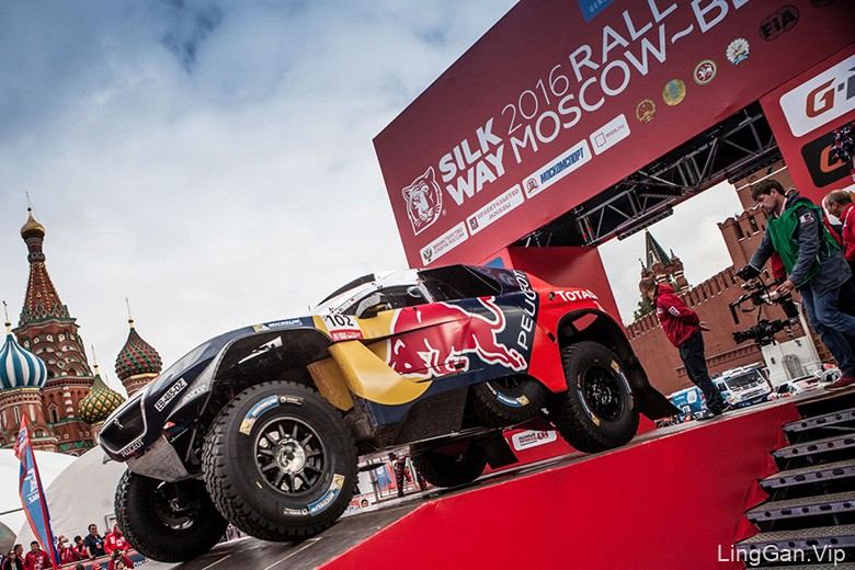 2016丝绸之路 (Silk Way Rally) 老虎形象LOGO