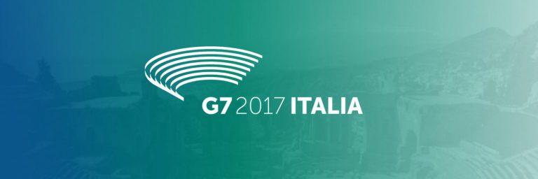 意大利公布2017年七国集团峰会(G7)LOGO