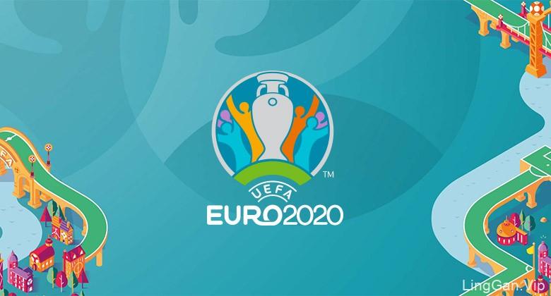 欧足联公布2020欧洲杯LOGO,首次12国共同合办