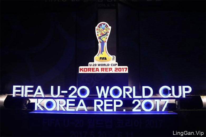 2017年韩国U-20世界杯的官方会徽和口号出炉