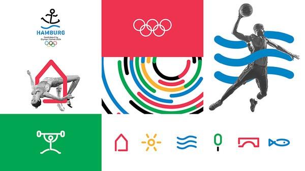 德国汉堡2024申奥Logo曝光