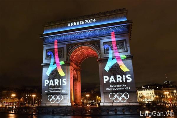 法国巴黎正式公布申办2024年奥运会LOGO