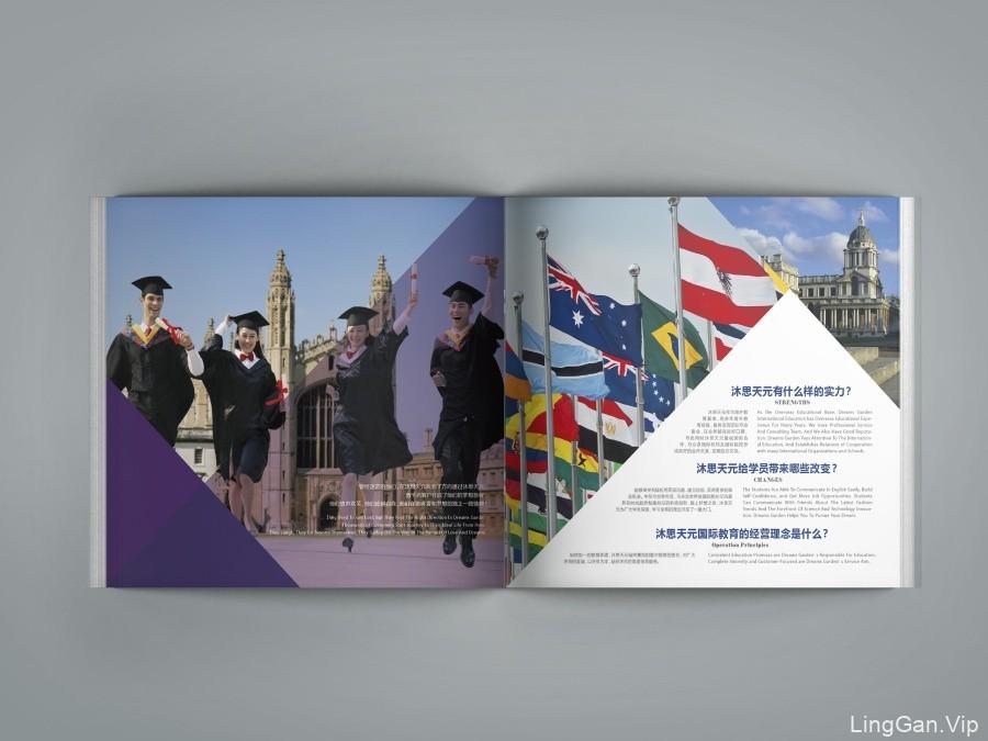沐思天元国际教育画册设计