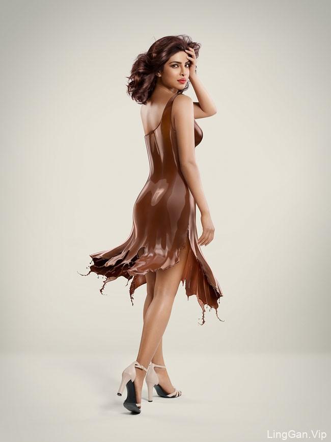 国外Mahesh Patel巧克力品牌视觉合成作品