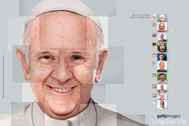 Getty Images图库创意广告设计:无限可能