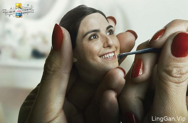 国外Vitamin choice保健药品创意广告设计