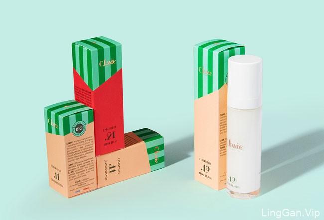 国外C.LAVIE天然化妆品包装设计作品赏析