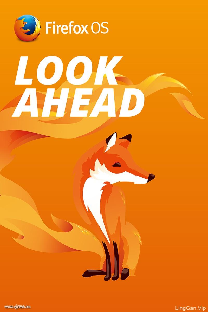 FirefoxOS Poster#火狐海报#设计欣赏