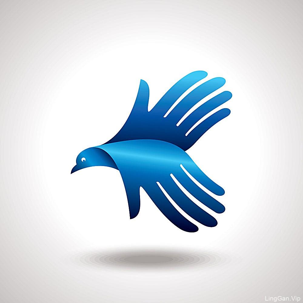 飞鸟logo设计合集欣赏-UI设计