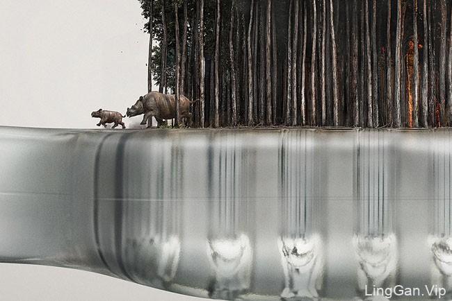 国外WWF保护动物系列创意公益经典广告设计