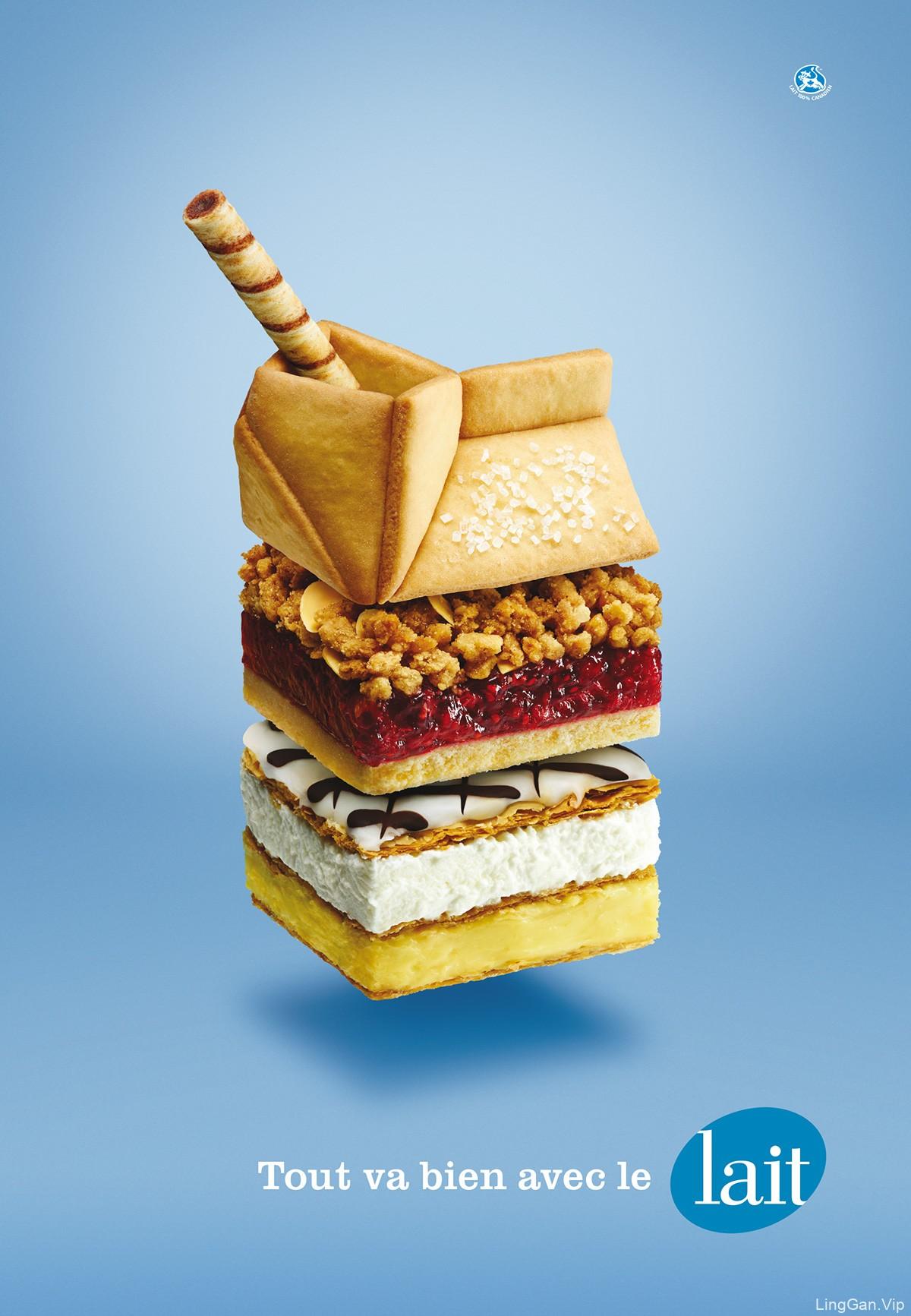 饼干广告海报