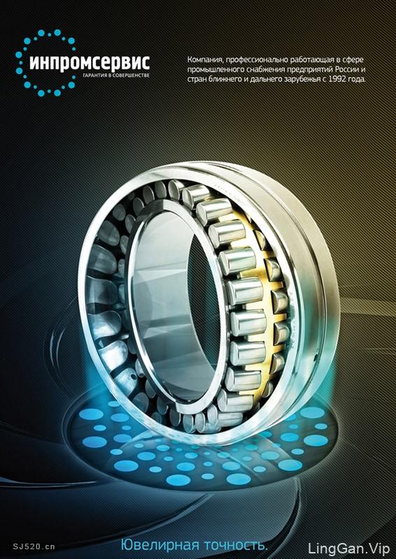 齿轮-轴承国外海报设计欣赏