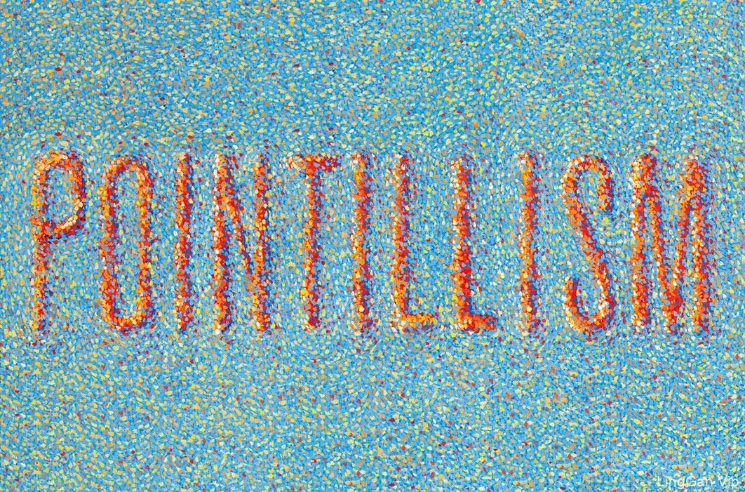 国外创意Pointillism图形美术插画设计欣赏