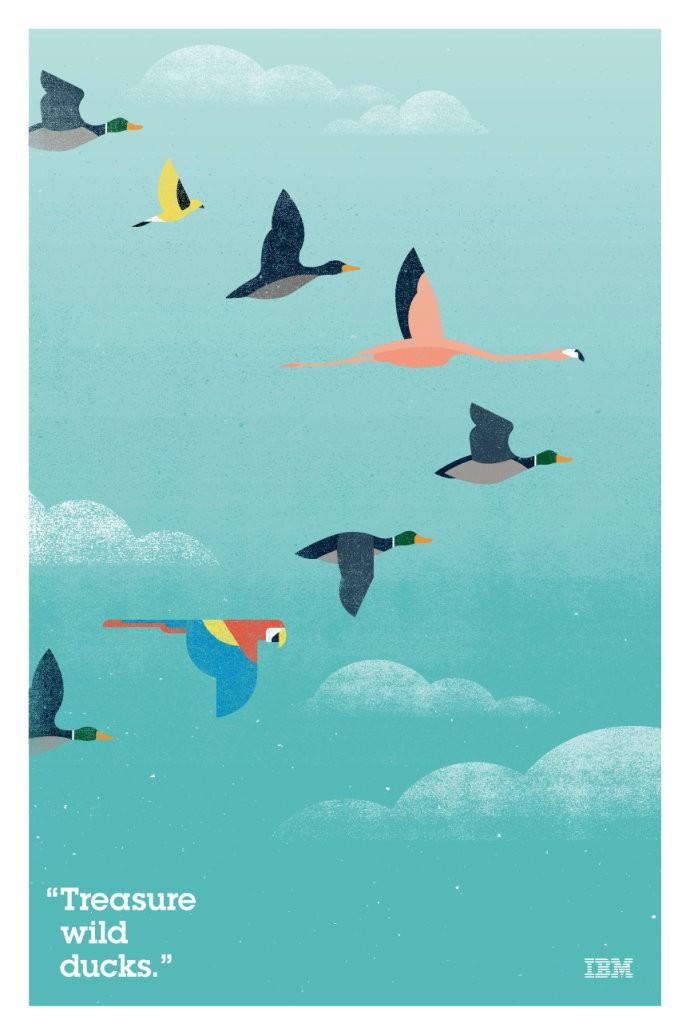 国外创意竖屏漫画风格海报设计欣赏
