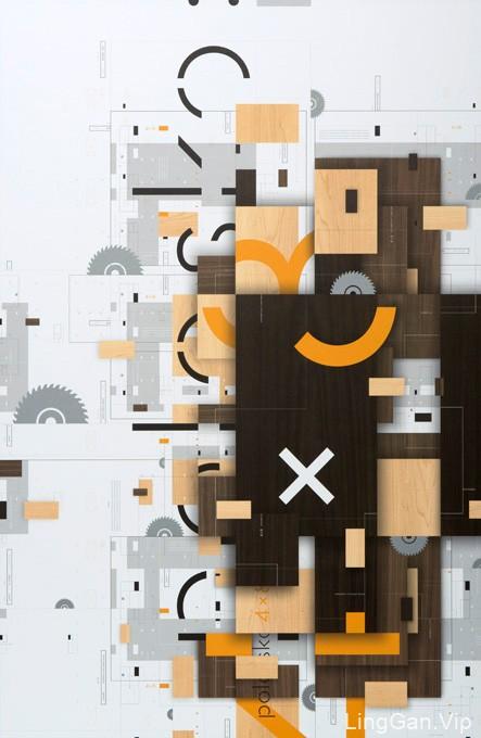 国外创意简洁海报设计
